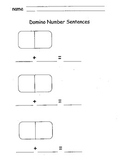 Domino Math Sentences