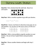 Domino Math Station
