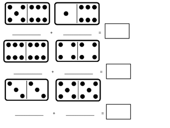 Domino Math Template