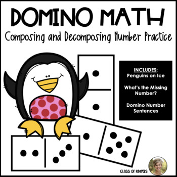 Domino Math Worksheets: Composing and Decomposing Numbers