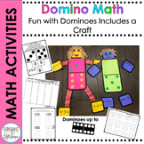 Domino Math Worksheets and Craft for 1st Grade