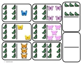 Domino Math with Butterfly Theme/Matching/One to One Correspondence for Autism