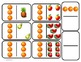 Domino Math with Fruit Theme/Matching/One to One Correspon