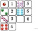 "Domino Math with ""Ornaments"" Theme/One to One Correspondence for Autism"