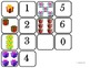 """Domino Math with """"Presents"""" Theme/Matching/One to One Corr"""