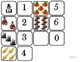 "Domino Math with ""Thanksgiving"" theme/One to One Corresppondence for Autism"