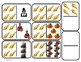 """Domino Math with """"Thanksgiving"""" theme/One to One Corresppondence for Autism"""