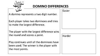 Domino Maths Sample