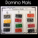 Domino Mats for Math Center: Addition, Subtraction, and Doubles