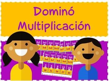 Dominó: Multiplicación