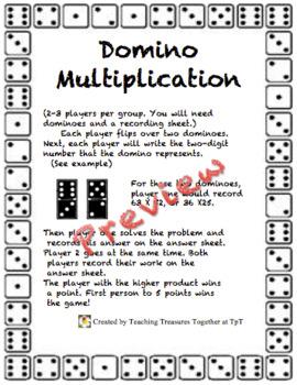 Domino Multiplication!
