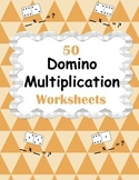 Domino Multiplication Worksheets