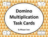 Domino Multiplication Task Cards