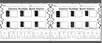 Domino Number Bond Match