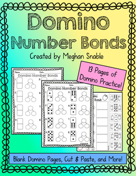 Domino Number Bond Math Activity- Engage New York Supplement
