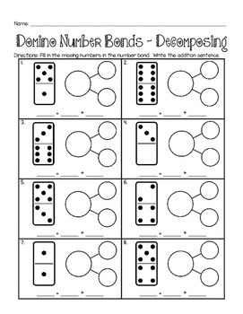 Domino Number Bonds