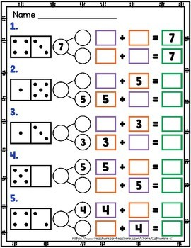 Number Bonds to 10 Worksheets