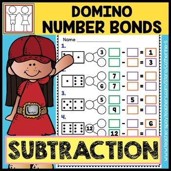 Domino Number Bonds - Subtraction