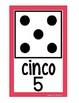 Domino Number Cards 0-20 EN ESPAÑOL {White Series}