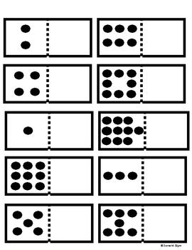 Domino Number Freebie