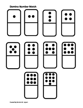 Domino Number Match