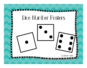 Domino Number Posters