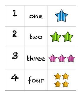 Domino Numbers- Stars