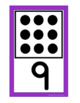 Domino Numeral Cards 0-20 {White Series}