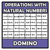 Domino - Operations with natural numbers