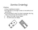 Domino Ordering Fractions