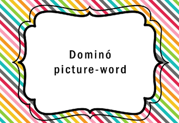 Domino Picture - Word