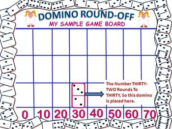 A Place Value, Rounding and Graphing Game For Primary Grades
