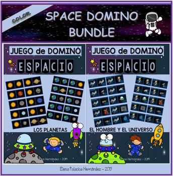 SPACE Domino Bundle / 2 DOMINÓS del ESPACIO