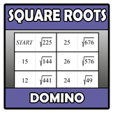 Domino - Square roots (TARSIA)