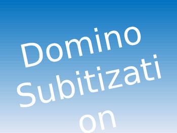Domino Subitization