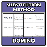 Domino - Substitution method (system of equations) - Siste
