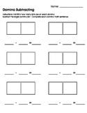 Domino Subtracting Worksheet/Printable