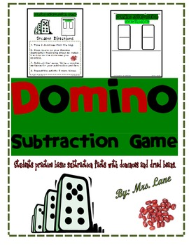 Domino Subtraction Game