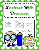 Domino Subtraction | Subtract With Dominoes | Run Play Have Fun