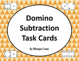 Domino Subtraction Task Cards