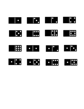 Domino Top It Comparing Numbers Math