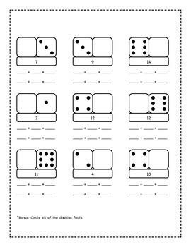 Domino Turn Around Math facts