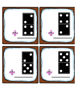 Domino Twos Fact Fluency