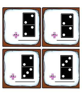 Domino Twos Fact Fluency