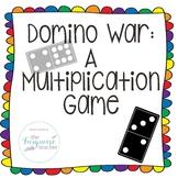 Domino War: A Multiplication Game 3.OA.A.1 3.OA.7 TEKS 3.4(K)