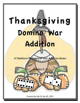 Domino War (Addition) for Thanksgiving