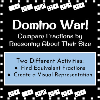 Domino War Comparing Fractions Activity