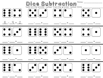 Domino and Dice Addition and Subtraction