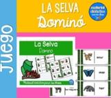 Dominó de la Selva  | Pack de juegos| Spanish Resources