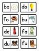 Domino de silabas con la B, D, F